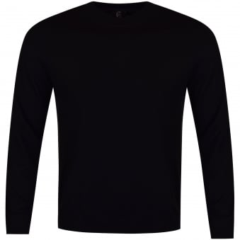 Paul Smith Jeans Black Side Stripe Knitted Jumper