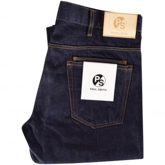 Paul Smith Jeans Dark Wash Straight Fit Jeans