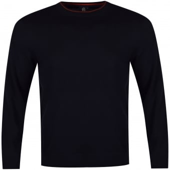 Paul Smith Jeans Navy Knitted Jumper
