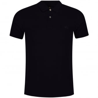 Paul Smith Jeans Navy Logo Polo Shirt