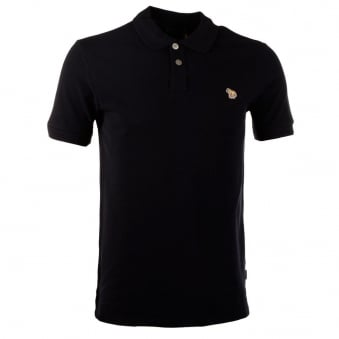 Paul Smith Jeans Navy Zebra Polo Shirt