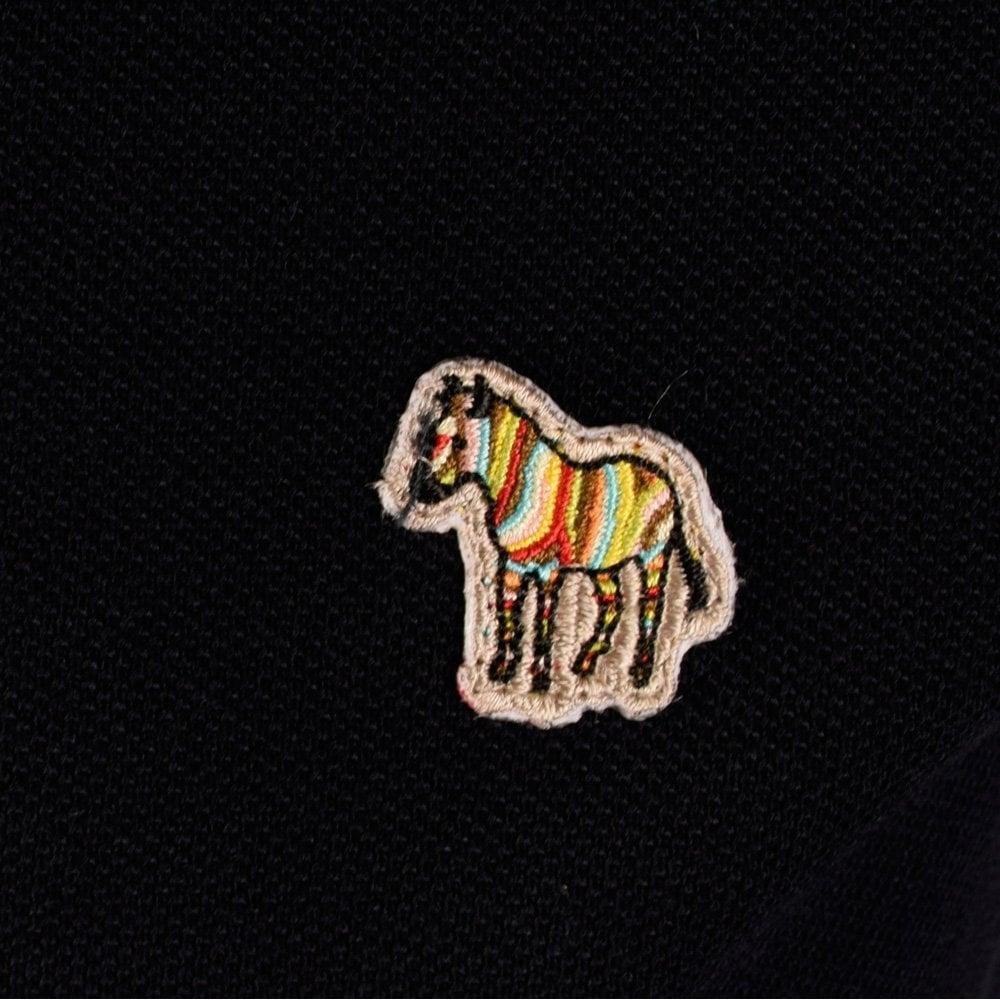PAUL SMITH JEANS Paul Smith Jeans Navy Zebra Polo Shirt