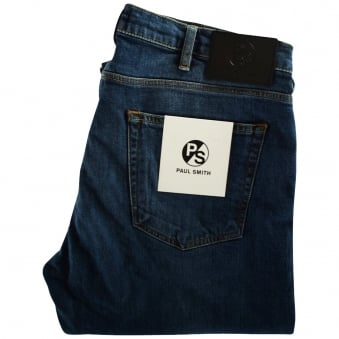 Paul Smith Mid-Wash Tapered Jeans
