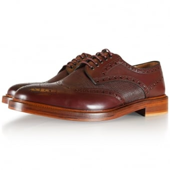 Paul Smith Smart Brown Lace Up Shoes