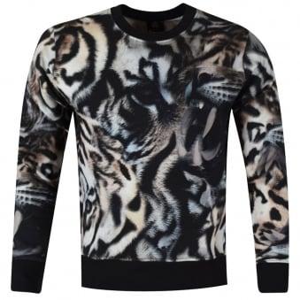 Paul Smith Tiger Print Sweatshirt
