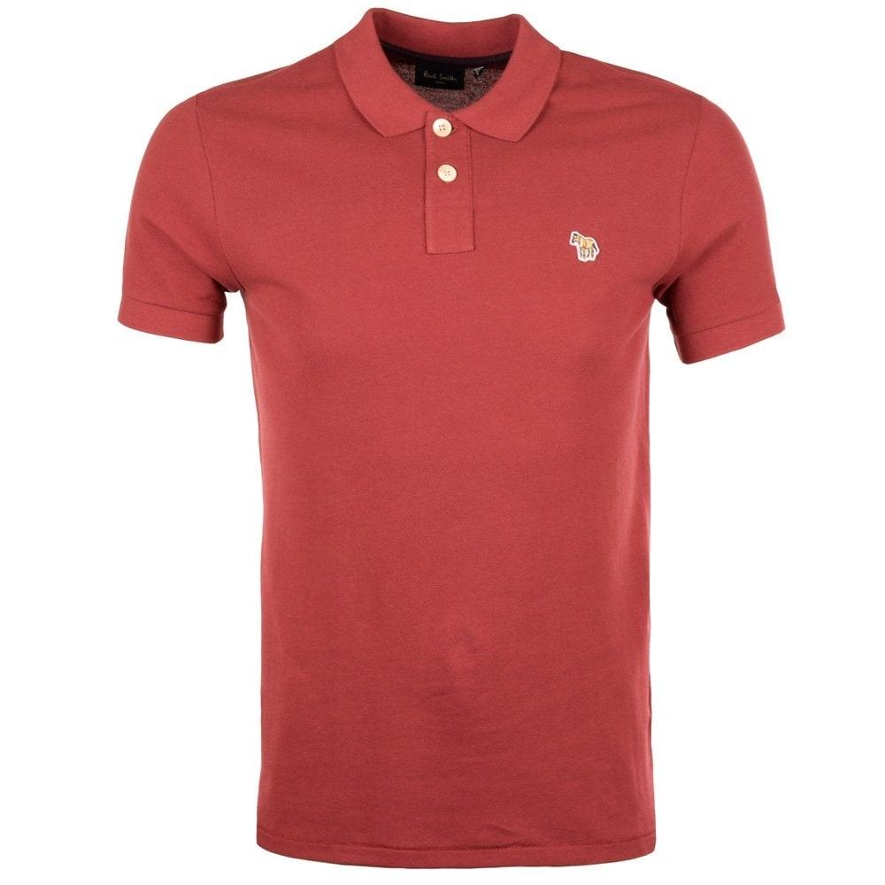 Paul Smith Jeans Plum Polo Shirt