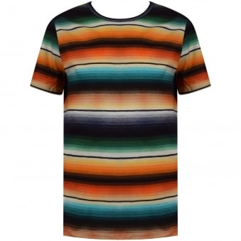 Paul Smith Junior Multi Stripe T-Shirt