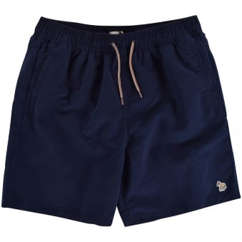 Paul Smith Junior Navy Logo Swim Shorts