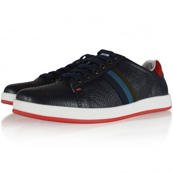 Paul Smith Junior Navy Logo Trainers