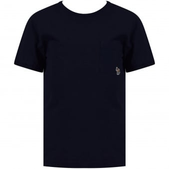 Paul Smith Junior Navy Pocket Logo T-Shirt