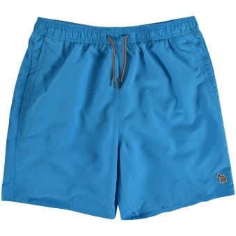 Paul Smith Junior Turquoise Logo Swim Shorts
