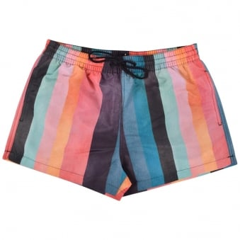 Paul Smith Multi Stripe Swim Shorts