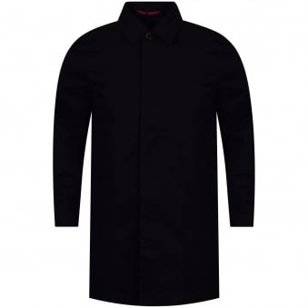 Paul Smith Navy Oversized Fit Coat