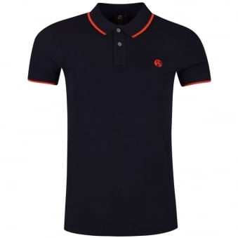 Paul Smith Navy Small Logo Polo Shirt