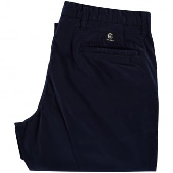 Paul Smith Navy Tapered Fit Chinos