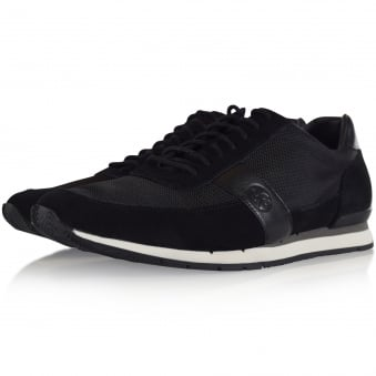 Paul Smith Black Mesh Trainers