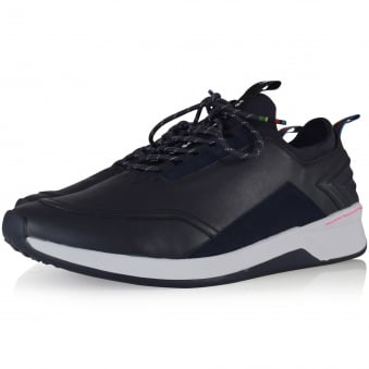 Paul Smith Navy Mookie Mono Lux Trainers