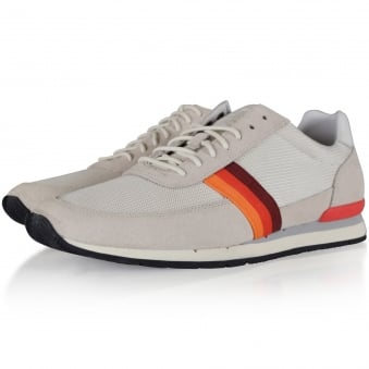 Paul Smith Off White Mesh Trainers