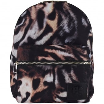 Paul Smith Tiger Print Backpack