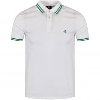 Paul Smith White Slim Fit Poloshirt
