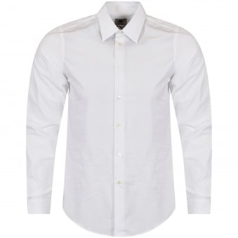 Paul Smith White Slim Fit Shirt