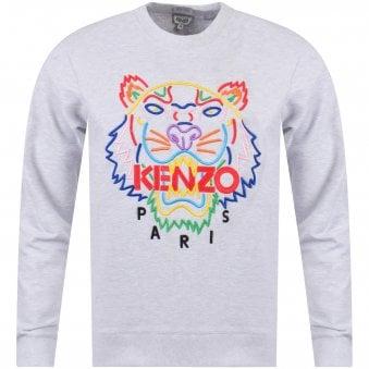 Pearl Grey Multi Tiger Sweatshirt 83b420f8dd85