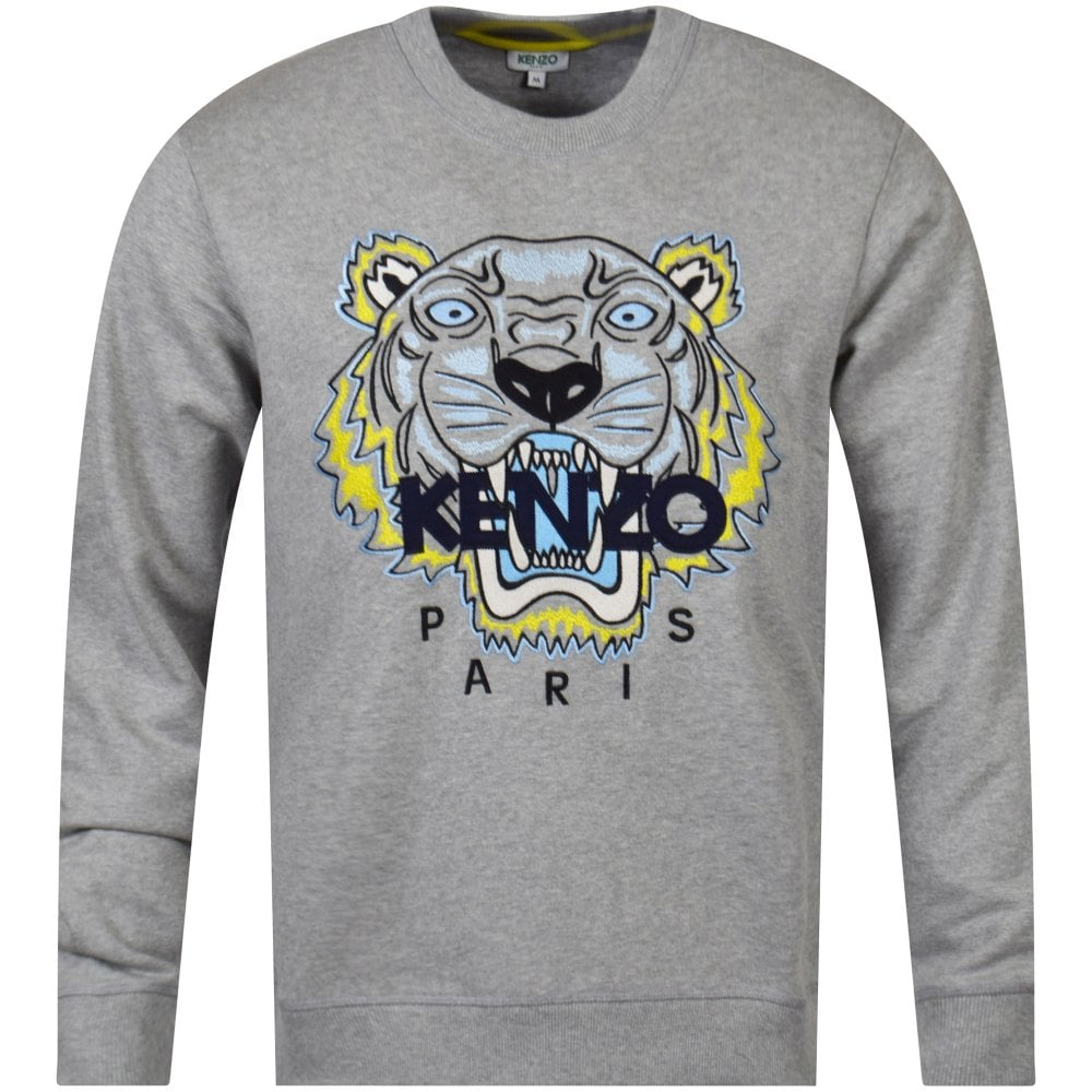 4add1343bd Pearl Grey Tiger Sweatshirt
