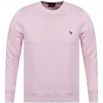 d7d56de0c Pink Embroidered Logo Sweatshirt · PS PAUL SMITH ...