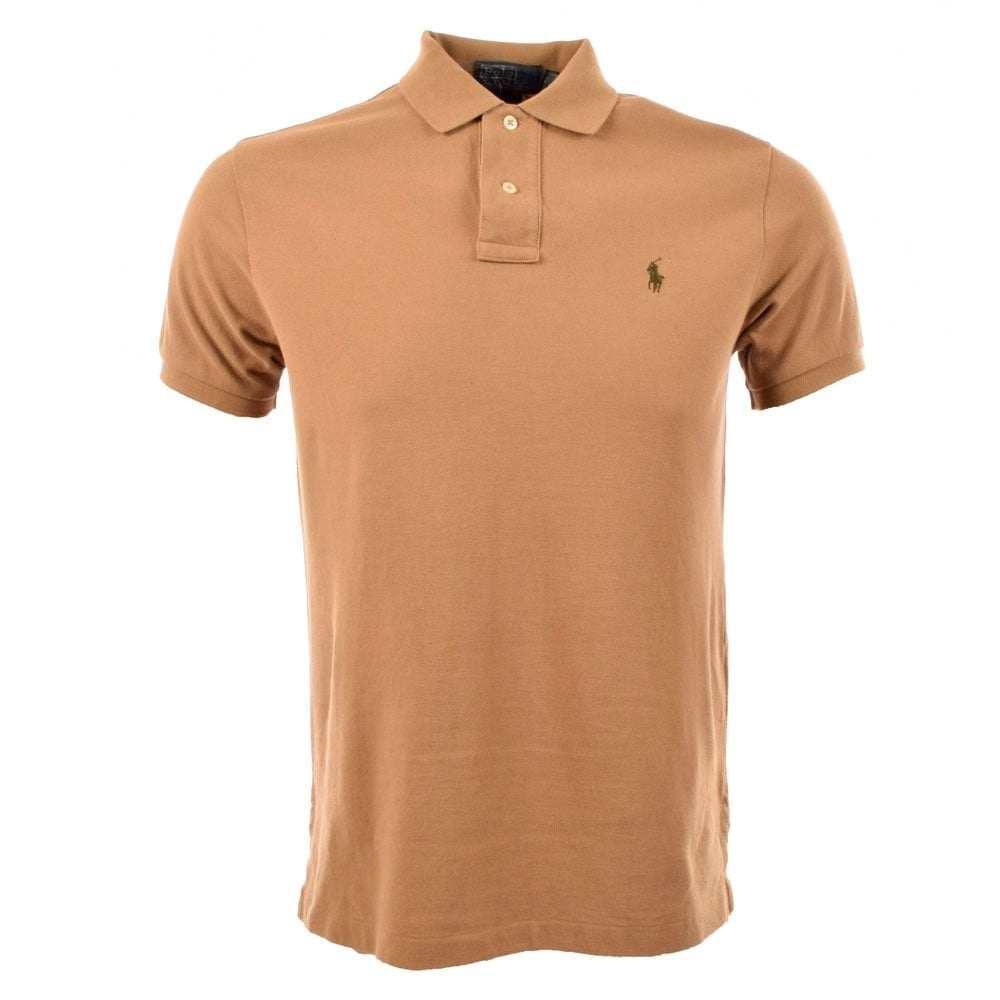 035973ba921a POLO RALPH LAUREN A12KS01C C0004 Khaki Polo Shirt - Men from  Brother2Brother UK