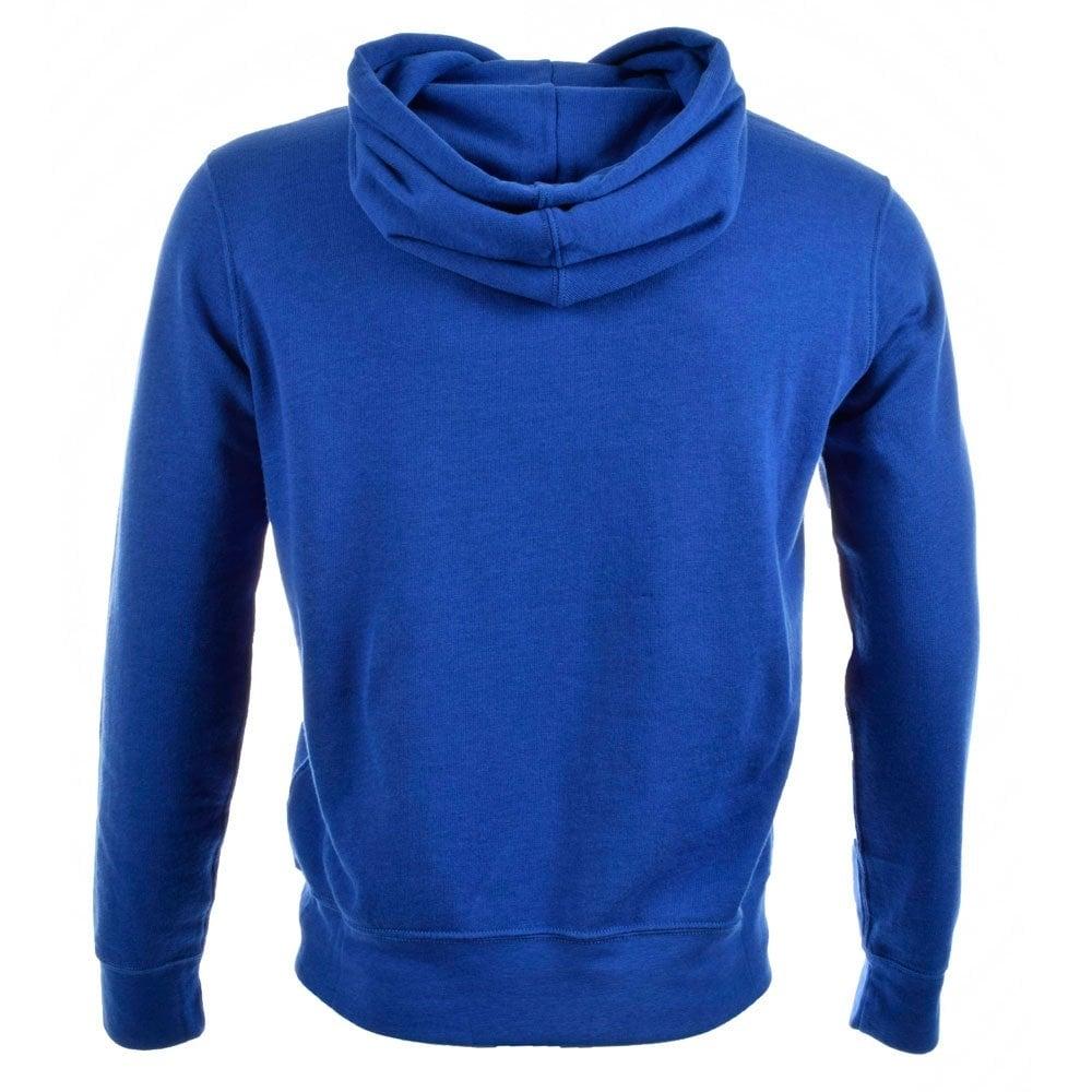 POLO RALPH LAUREN A14KH903 B009A Royal Blue Hoodie - POLO RALPH LAUREN from Brother2Brother UK