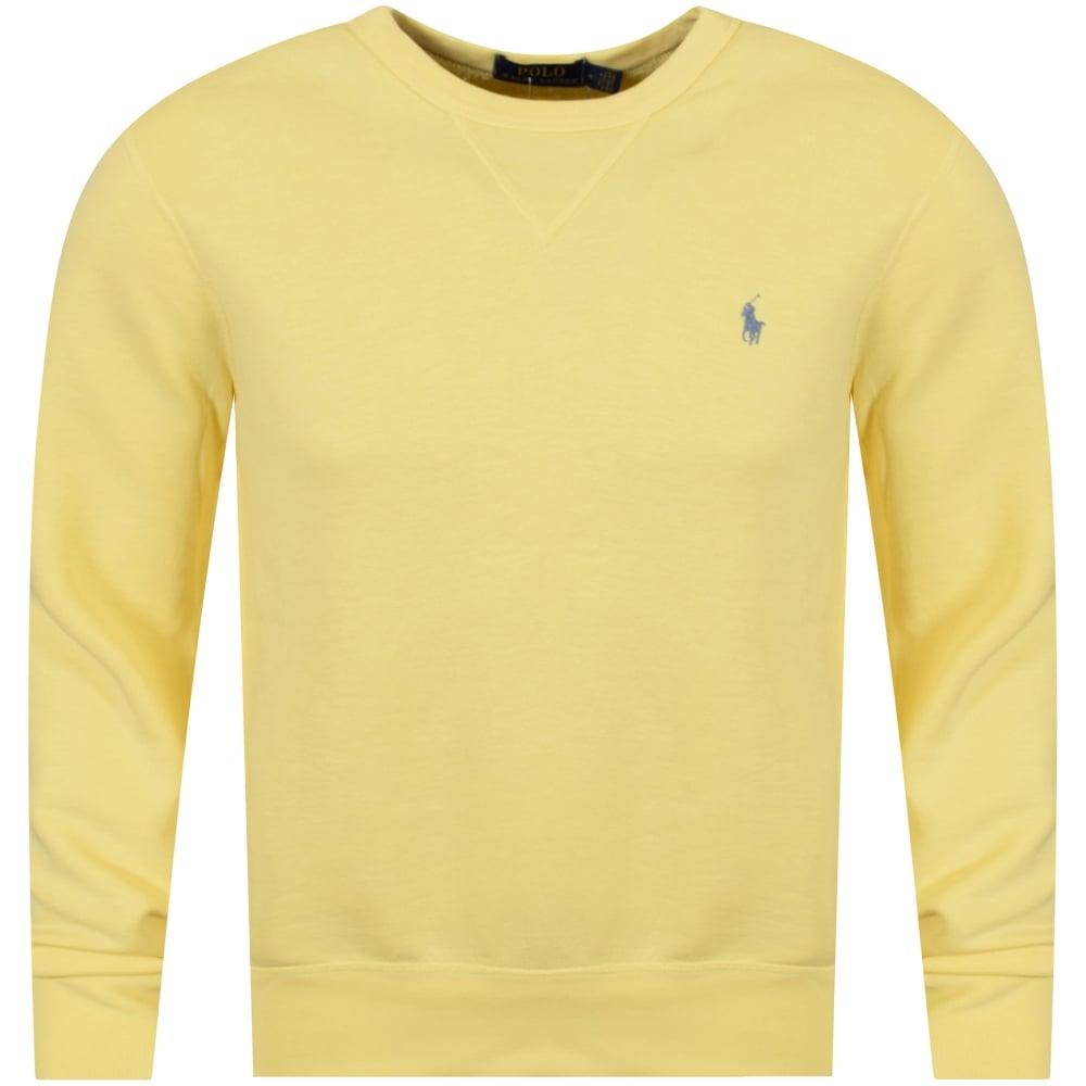 bc3b46f1 POLO RALPH LAUREN Polo Ralph Lauren Banana Yellow Sweatshirt ...