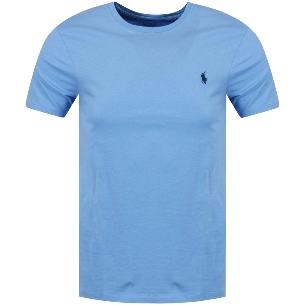 Polo Ralph Lauren Polo Ralph Lauren Blue Crew Neck T Shirt Men