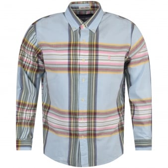 Polo Ralph Lauren Blue/Pink Striped Shirt
