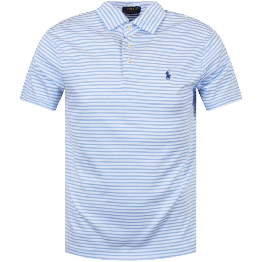 7f9169ff42ce POLO RALPH LAUREN Polo Ralph Lauren Blue Striped Polo Shirt - Men ...