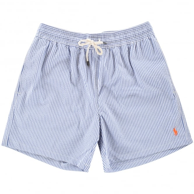1c2919f9cc POLO RALPH LAUREN Polo Ralph Lauren Blue/White Stripe Swim Shorts ...