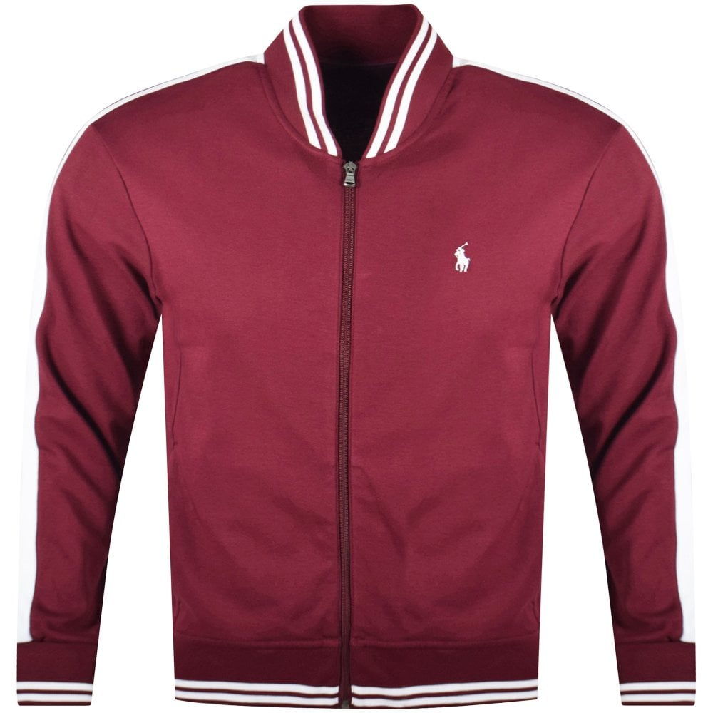2a7400811 POLO RALPH LAUREN Burgundy Zip Sweatshirt - Department from ...