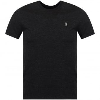 Polo Ralph Lauren Charcoal Black Crew T-Shirt