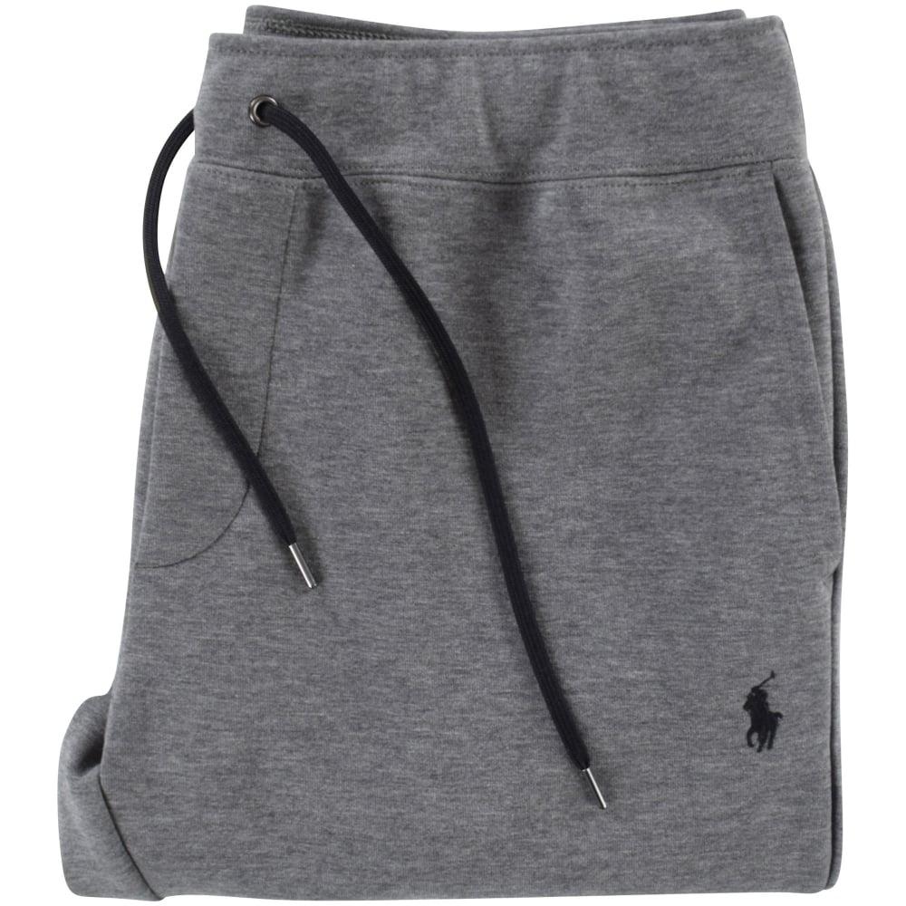 f2825c30090a78 POLO RALPH LAUREN Polo Ralph Lauren Foster Grey Logo Jogging Bottoms ...