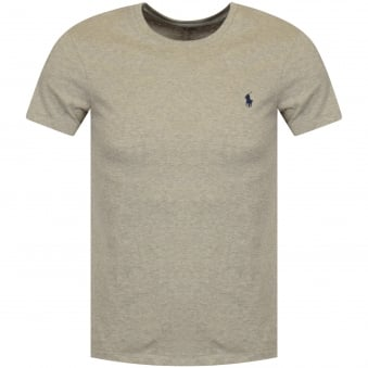 Polo Ralph Lauren Grey Crew Neck T-Shirt