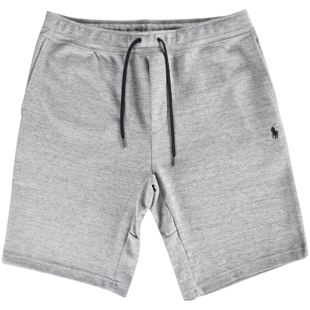 d9d6e90d1 POLO RALPH LAUREN Grey Logo Shorts - Department from Brother2Brother UK