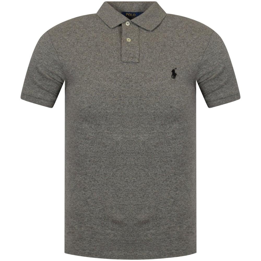 3d828766322ce POLO RALPH LAUREN Polo Ralph Lauren Heather Grey Polo Shirt - Men ...