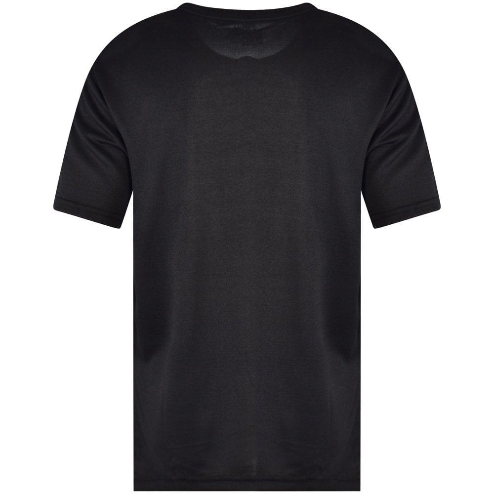 97b5676a POLO RALPH LAUREN JUNIOR Black Striped Wing Logo T-Shirt - Men from ...