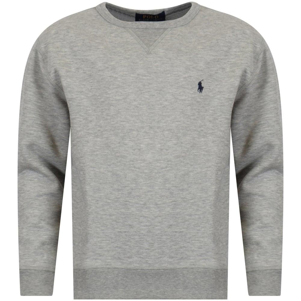 55a3f515893a8 POLO RALPH LAUREN JUNIOR Polo Ralph Lauren Junior Grey Sweatshirt ...