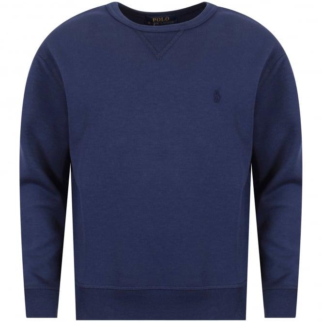 Ralph Lauren Junior Sweatshirt Neck Crew Polo Navy xrCedBo