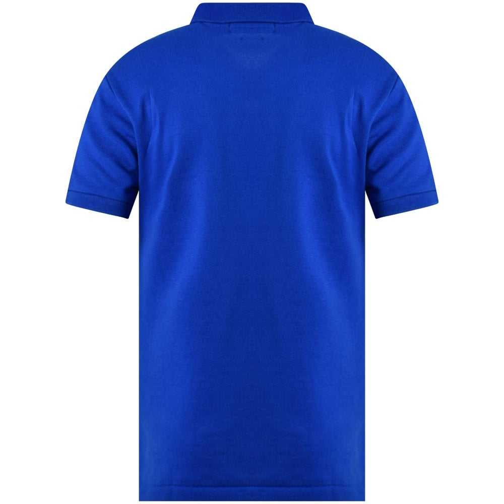 royal blue polo t shirt