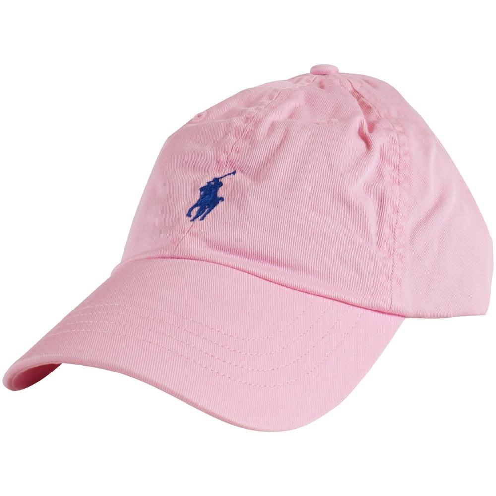 POLO RALPH LAUREN Polo Ralph Lauren Logo Baseball Cap In Pink - Men ... b98a114bc41