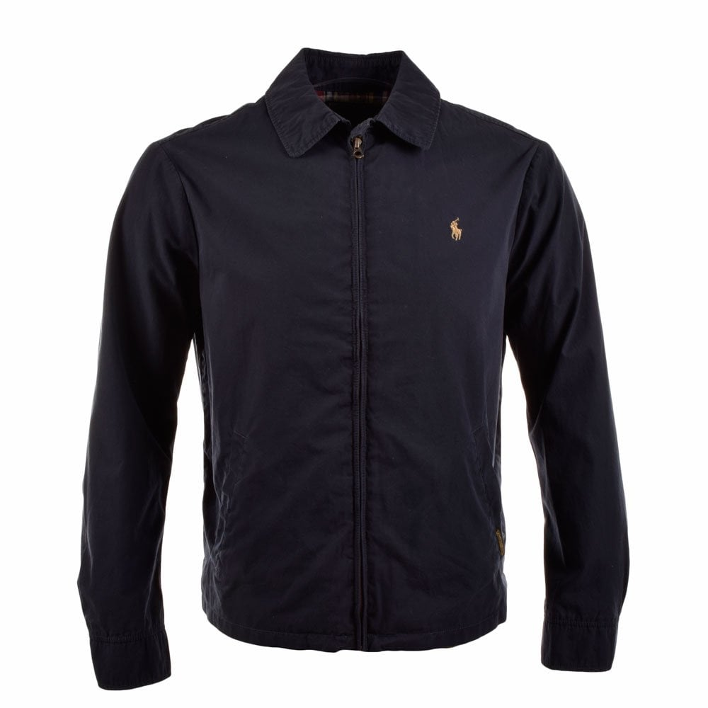 enjoy big discount sleek most desirable fashion POLO RALPH LAUREN Navy Harrington Jacket A30J7138 C0109