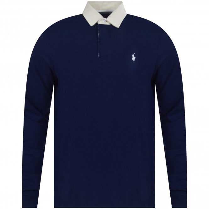 f57f557501d POLO RALPH LAUREN Polo Ralph Lauren Navy Iconic Rugby Polo Shirt ...