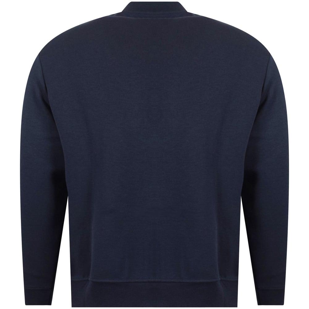 Polo Bomber Ralph Lauren Navy Zip Performance Sweatshirt roeBdxCW