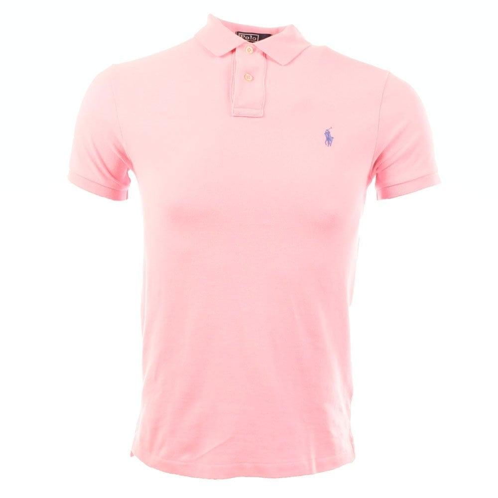 pink polo shirts for men ralph lauren